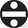 Division Clipart 1408547 Tn Black Circle Division Sign Clipart Jpg