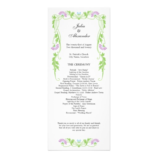 Elegant Border Clipart Wedding Swirls Program Pictures