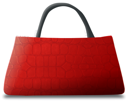 Leather Handbag   Http   Www Wpclipart Com Clothes Accessories Purse