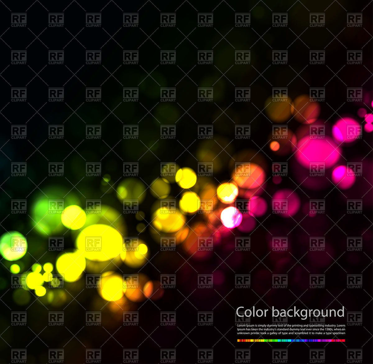 Magic Sparkle Light Dots Background 75081 Download Royalty Free
