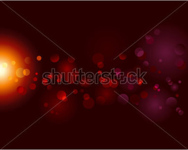 Magic Sparkle Light Dots On Black Background With Copy Space  Vector