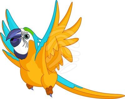 Pet Parrot Clipart - Clipart Kid