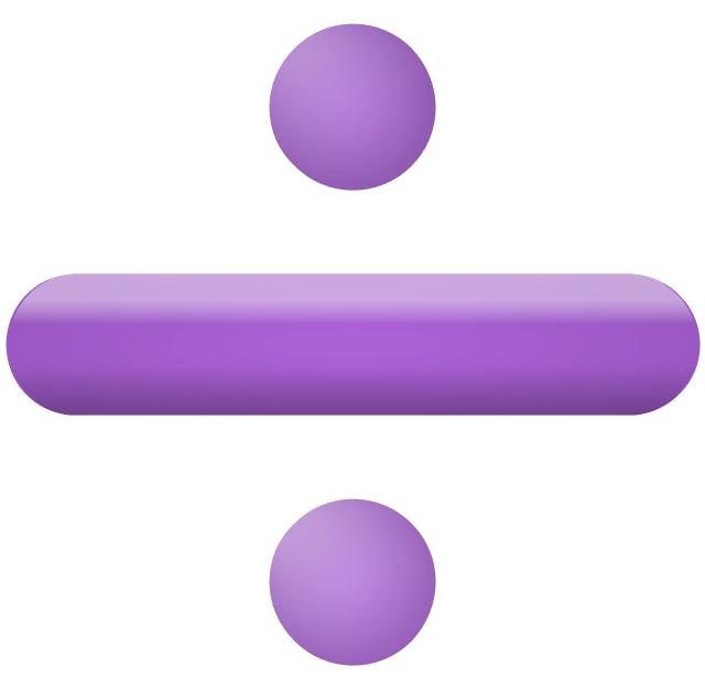 Image result for division sign