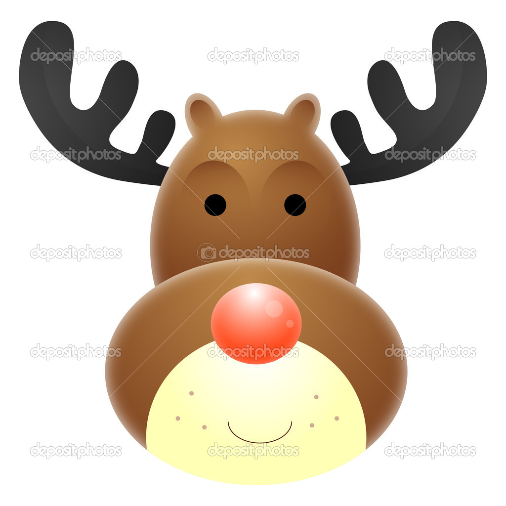 Image Gallery rudolph face
