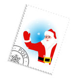 Santa Claus Postage Stamp Stock Illustrations Vectors   Clipart