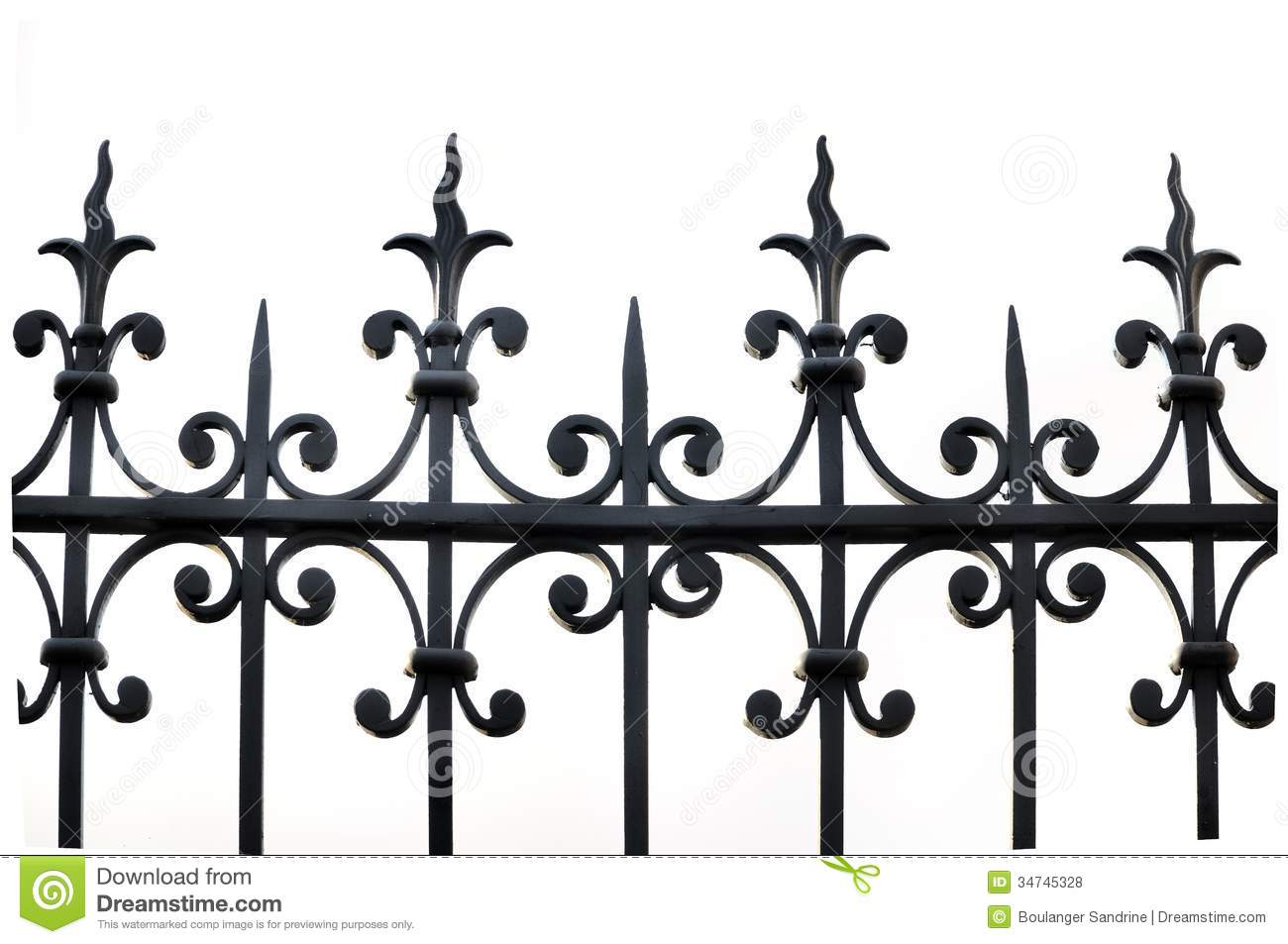 Iron fence clipart suggest