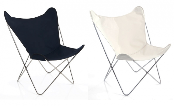Camping Black And White 700 Circa 50 White Black Butterfly Chairs Png