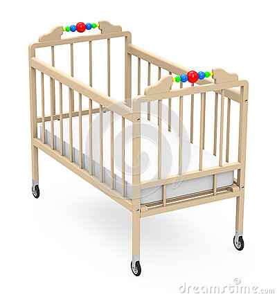 Cot Clip Art Baby Cot D Generated Picture
