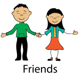 Couple Clipart Image   Asian Boyfriend And Girlfriend