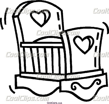 Crib Clipart Black And White Crib Clipart Black And White