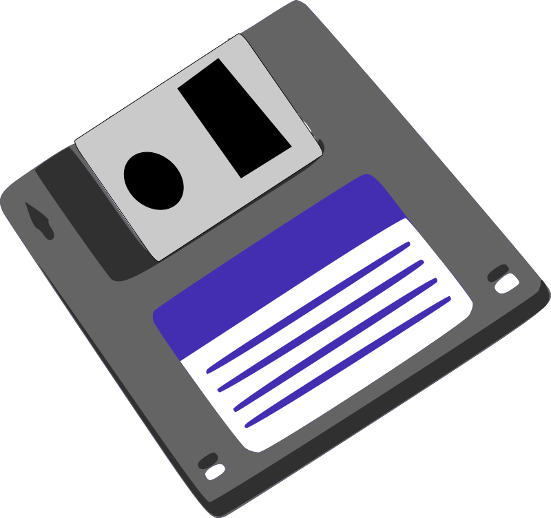 Computer Disk Clipart - Clipart Kid