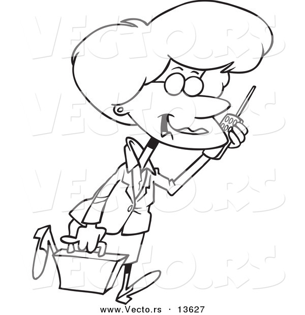 Person Walking Cell Phone Clipart Clipart Suggest
