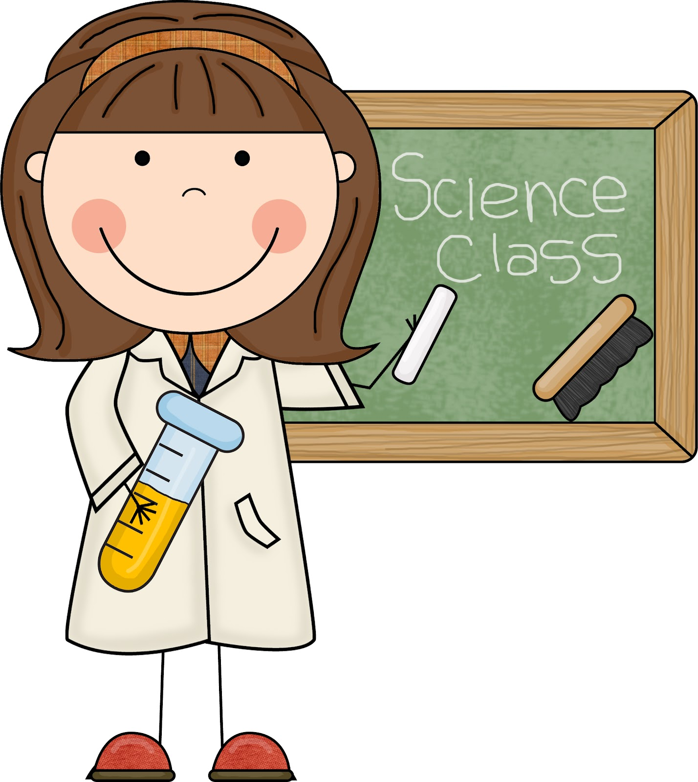 Cute Science Clipart - Clipart Kid