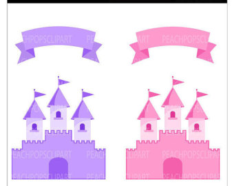 Fairy Princess Castle Clipart - Clipart Kid