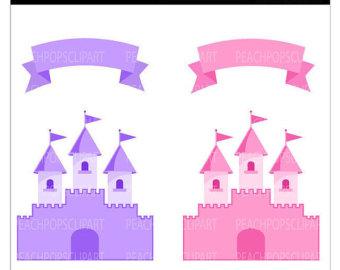 Fairy Princess Castle Clipart - Clipart Kid