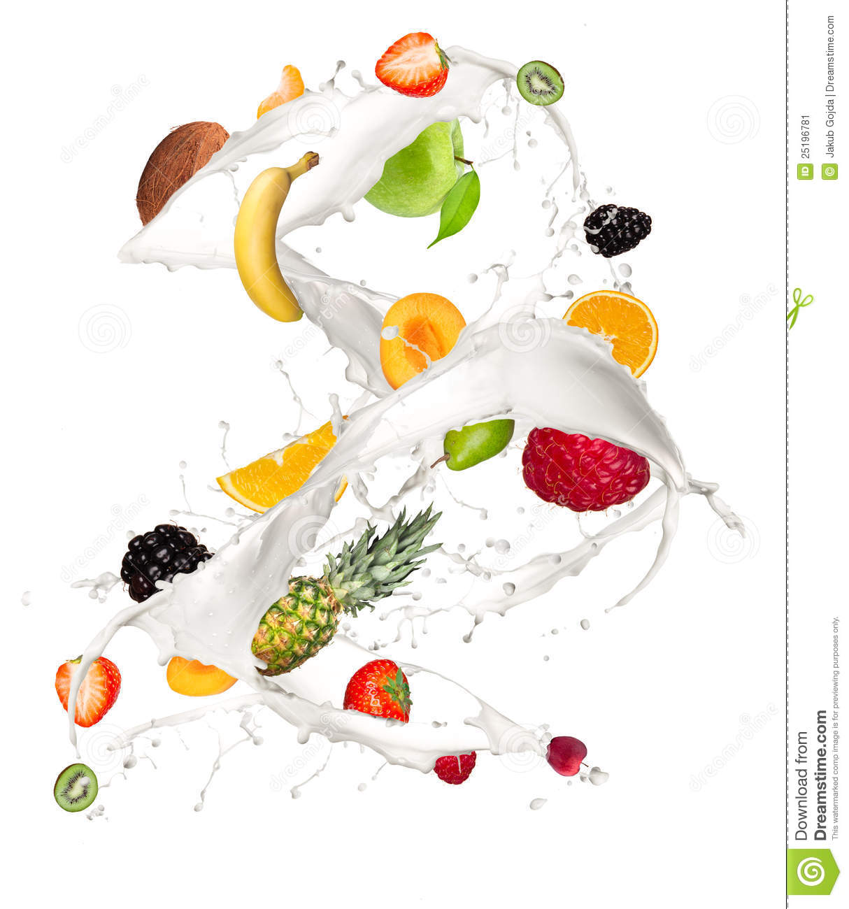 Fruit Mix Stock Image   Image  25196781