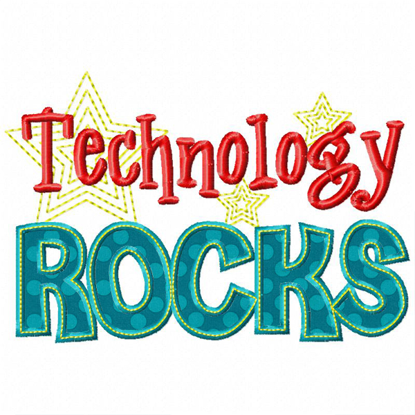 Home See It All Technology Rocks Applique