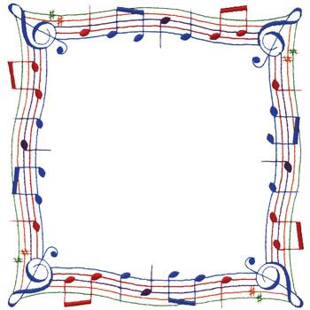 Music Note Borders   Cliparts Co