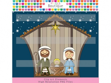 Nativity Christmas Clipart  No  098