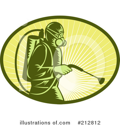 Royalty Free  Rf  Exterminator Clipart Illustration By Patrimonio