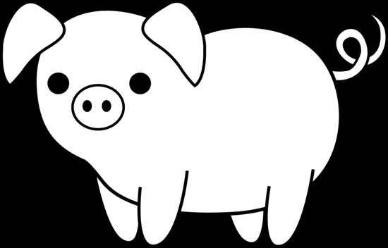 Pig Border Free Clipart - Clipart Kid