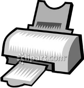 Printer In Food Clipart - Clipart Kid