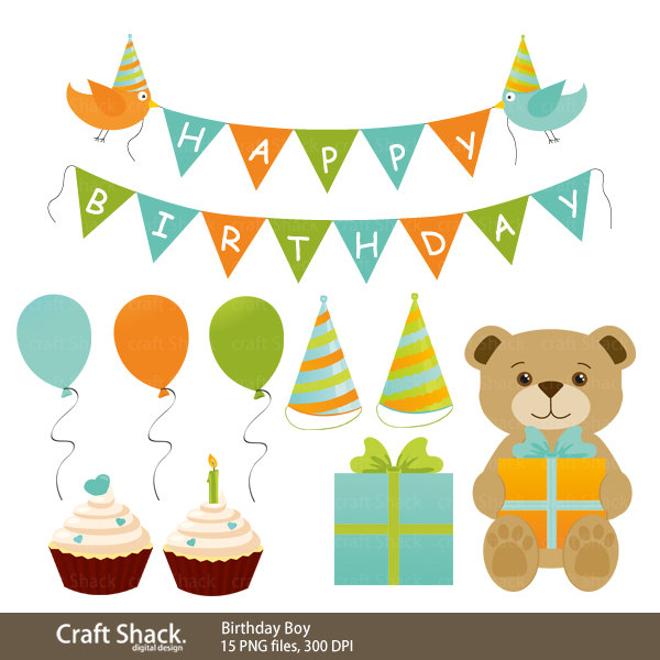 Birthday Boy Clipart - Clipart Suggest