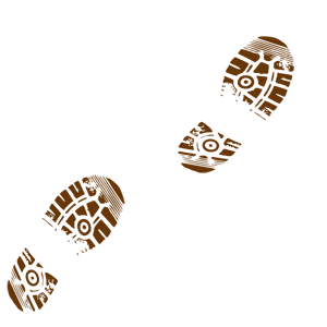 Muddy Boot Tracks Clipart   Cliparthut   Free Clipart