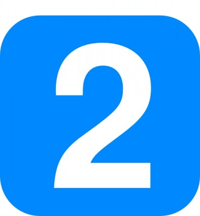 Number 17 Clipart Number In Light Blue Rounded