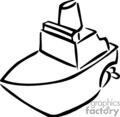 Row Boat Clip Art Black And White