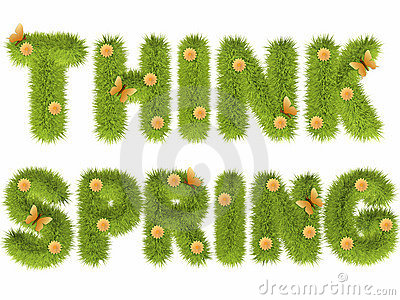 Think Spring Clipart - Clipart Kid