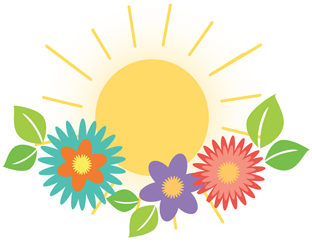 spring weather clipart-#42