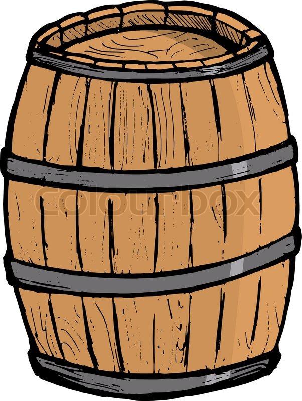 Barrel Gun Powder Barrel Cartoon Cartoon Home Kitchen Barrel Beer