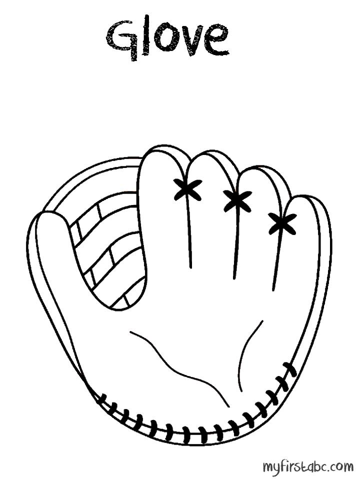 Glove Printable Clipart