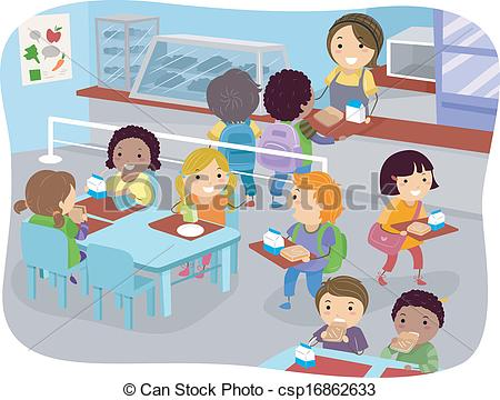 Canteen Clipart Black And White Canteen Illustrations And Clipart 493