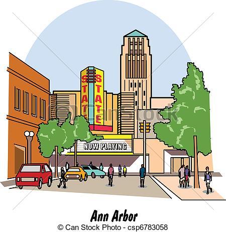 City Scene Clip Art – Cliparts