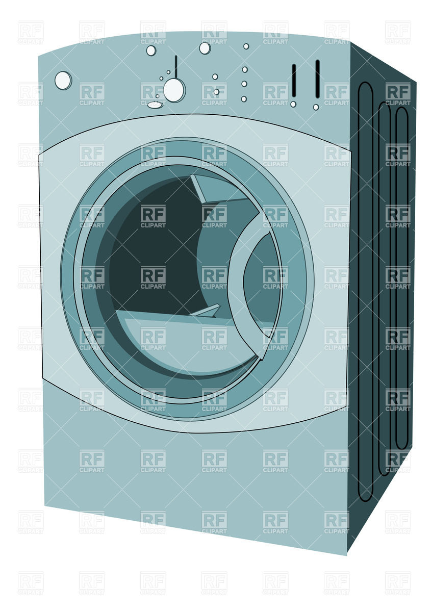 Clothes Dryer 34320 Download Royalty Free Vector Clipart  Eps