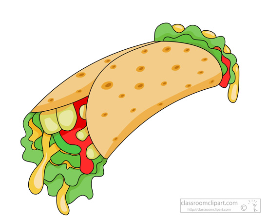 Download Vegetable Sandwich Wrap Clipart 119