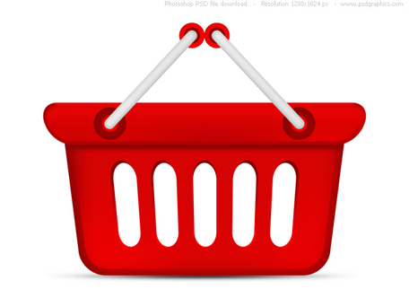 Shopping Basket Clipart - Clipart Kid