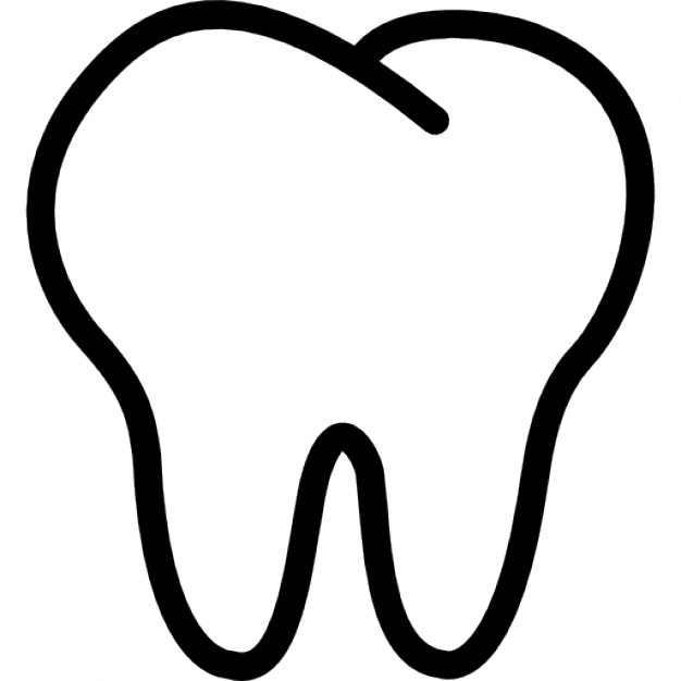Clip Art Tooth Clipart tooth outline clipart kid outline