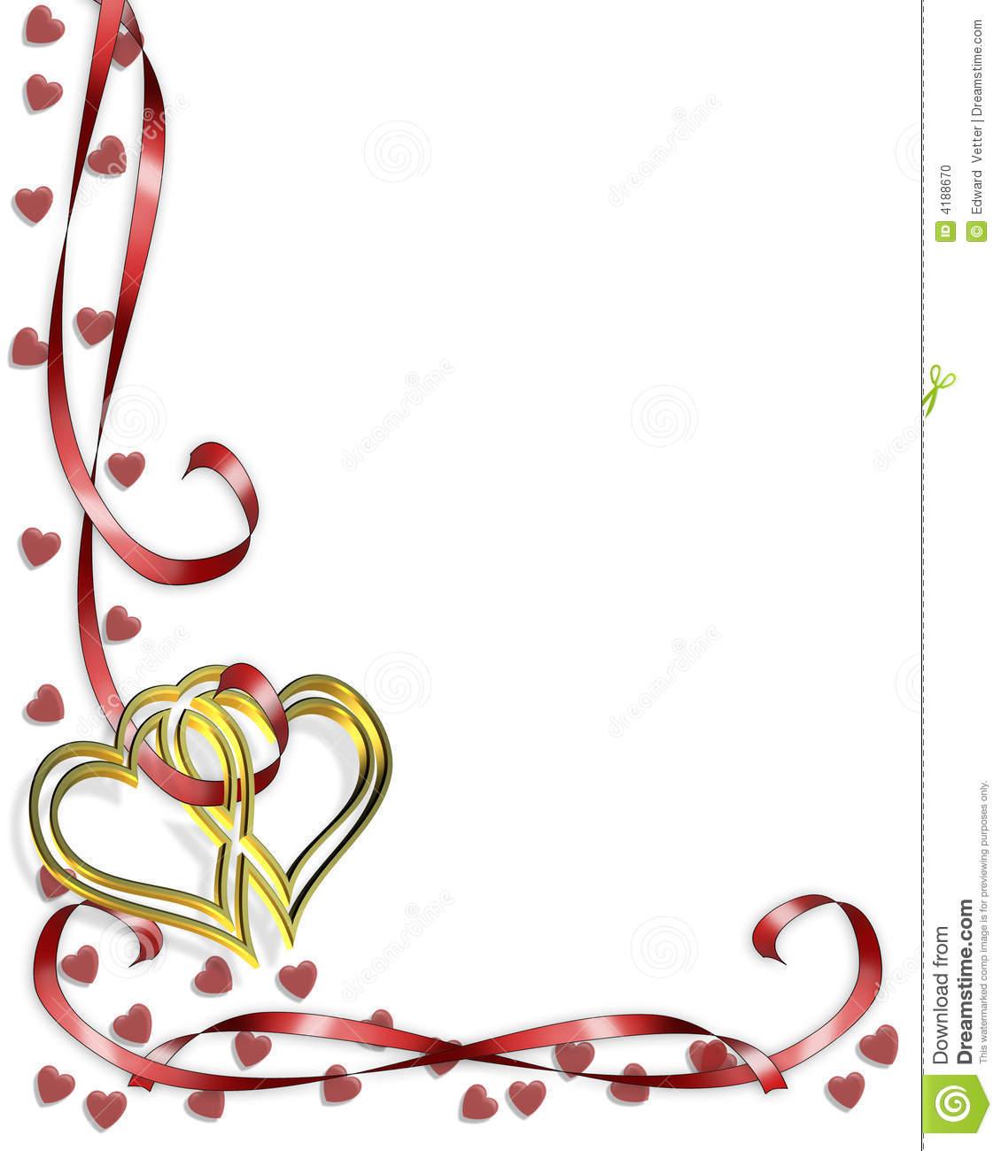 Wedding Corner Border Clipart Valentine Border Hearts #5xTZl9 ...