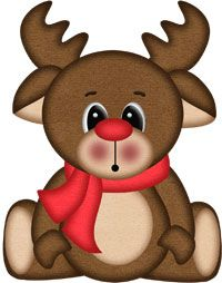 Adorable Lil Rudy Clipart   Holidays Christmas   Pinterest