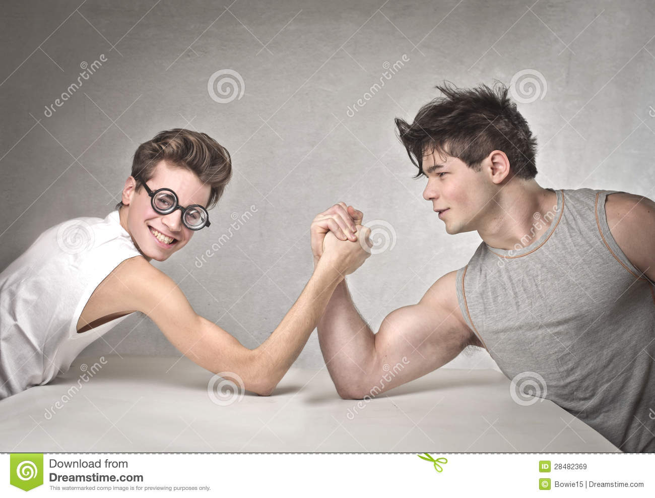 Armwrestling Royalty Free Stock Images   Image  28482369