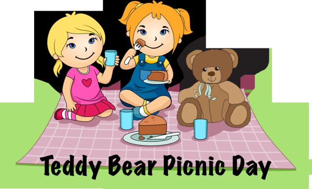 Teddy Bear Picnic Clipart - Clipart Kid