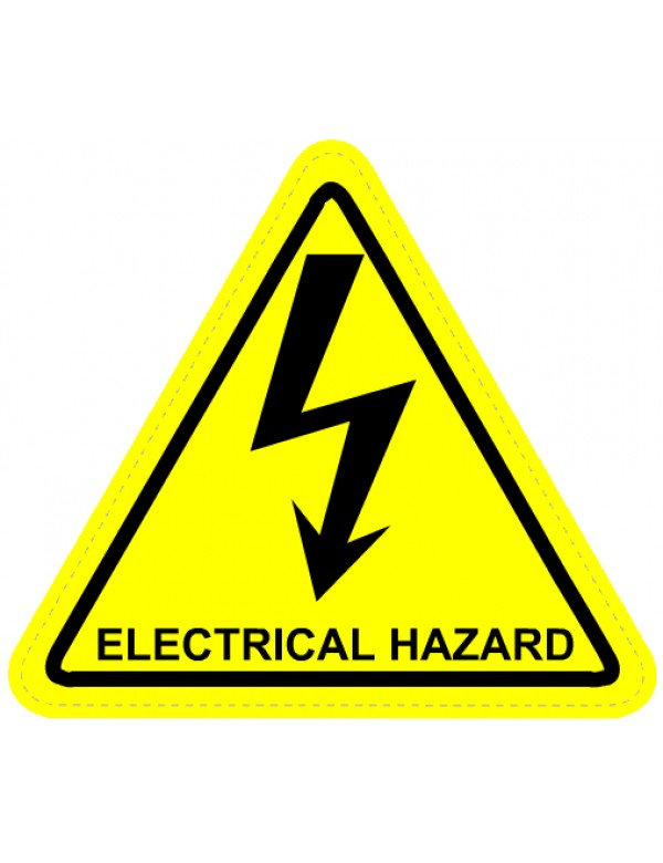 Electrical Warning Sign Clipart - Clipart Kid