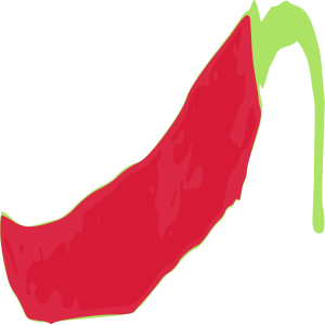 Red Pepper 01 Svg Clipart