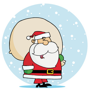 Santa With Toys Clipart - Clipart Kid