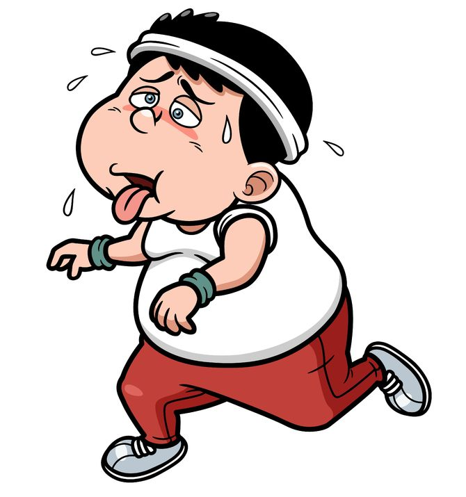 Fat Jogger Clipart - Clipart Kid