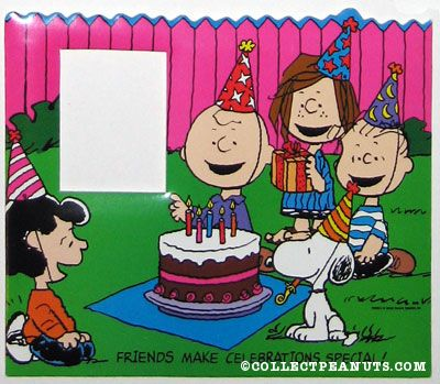 Peanuts Birthday Clipart - Clipart Kid