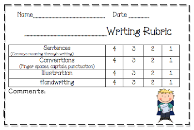 Ve Also Included A Writing Rubric For You